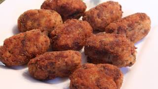Italian Rice Croquettes - Arancini - Rice Balls Recipe