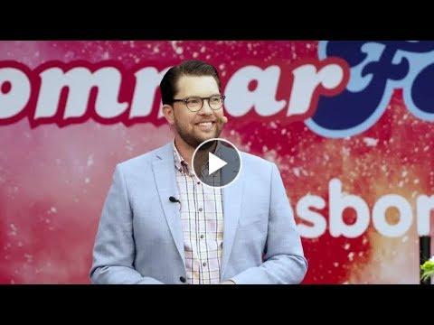 Jimmie Åkessons Sommartal 2018