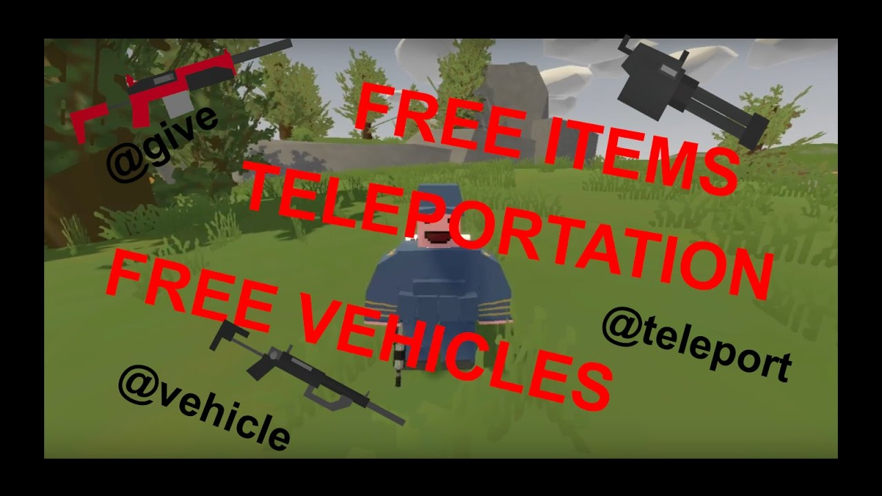 Unturned all singleplayer commands