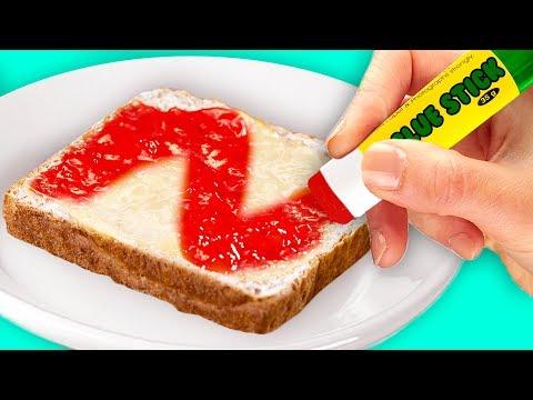 21 COOL FOOD HACKS FOR SCHOOL