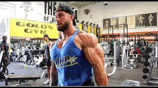 Building A Huge Chest | Golds Gym, The Mecca