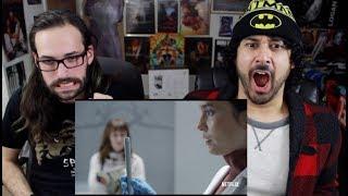 "BLACK MIRROR (Netflix) ""Arkangel"" & ""Crocodile""  TRAILER REACTION!!!"