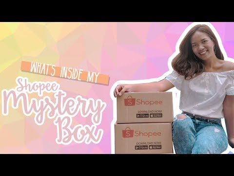 Unboxing My Shopee Mystery Box + GIVEAWAY!!! [CLOSED]