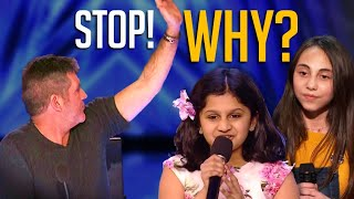 Simon Cowell STOPS These Contestants Mid Performance...But Will They Get a Second Chance?