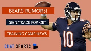 Chicago Bears Rumors: Andy Dalton Trade Or Sign Marcus Mariota + Bears Training Camp News