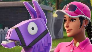 a very epic game of fortnite