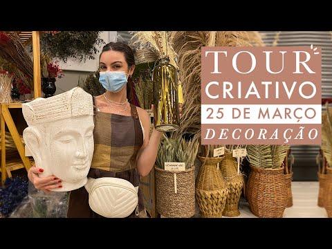 Tour Criativo pela 25 de março | Lojas incríveis de decoração
