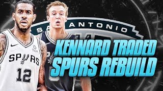 Luke Kennard TRADED! San Antonio Spurs Rebuild | NBA 2K19