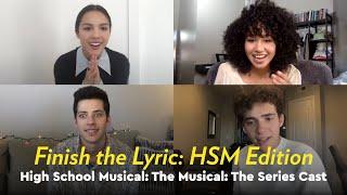 HSMTMTS Cast Play Finish the Lyric: HSM Edition