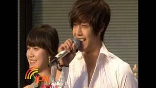 Kim Hyun Joong and Goo Hye Sun _ One(Hana)