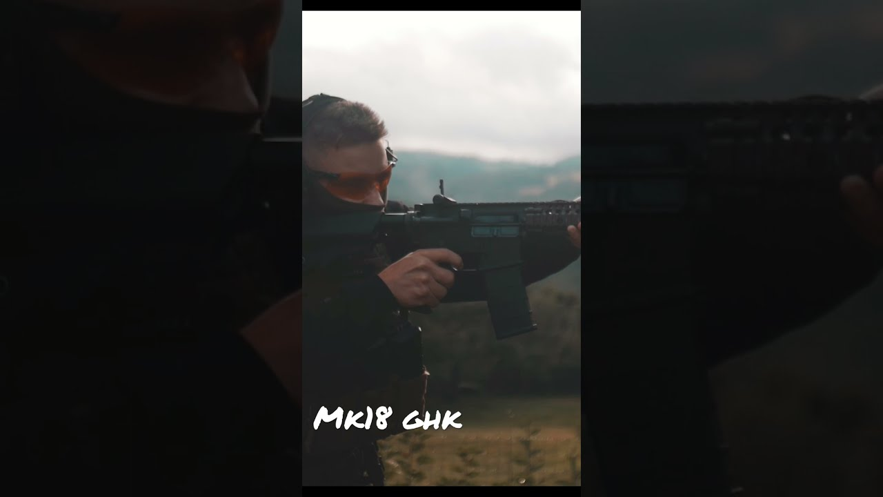 Mk18 ghk + templar gear