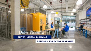 The Wilkinson Building: Designed for Active Learning video