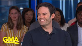 Bill Hader on the rumor he got his start in a Janet Jackson video | GMA
