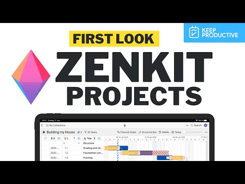 Zenkit Projects First Look