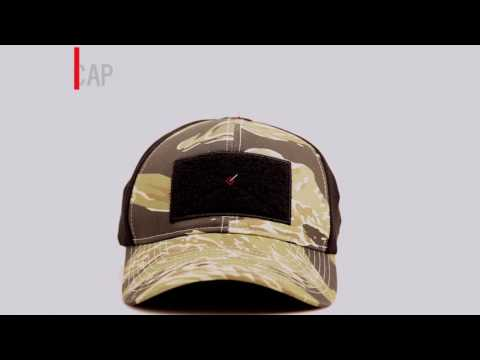 RE Factor Tactical Blasting Cap - Tiger Stripe, Exclusively at SKD