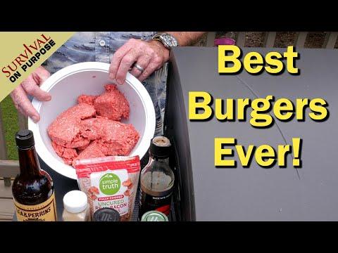 How To Make The Best Hamburgers In America - Secret Recipe For Bryan Burgers