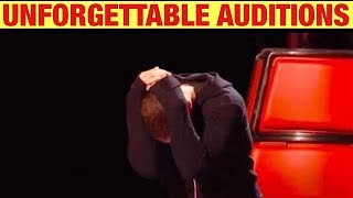 UNFORGETTABLE AUDITIONS on The Voice, X Factor & Got Talent