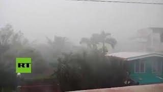 ¡No solo Florence!: El tifón Mangkhut azota Filipinas