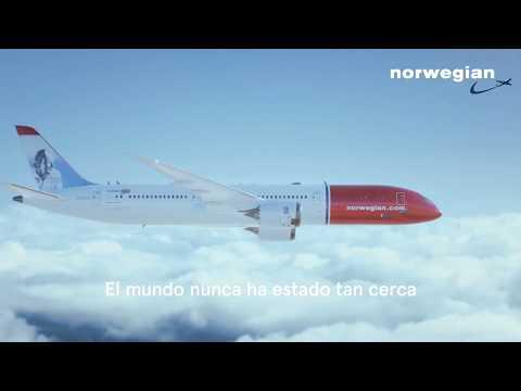 El mundo nunca ha estado tan cerca. ¡Vuela con Norwegian!