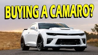 Buying a 2016/2017 Camaro? Watch This Video First! (vlog)