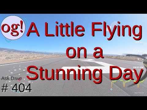A little fun flying on a beautiful day (AD#404)