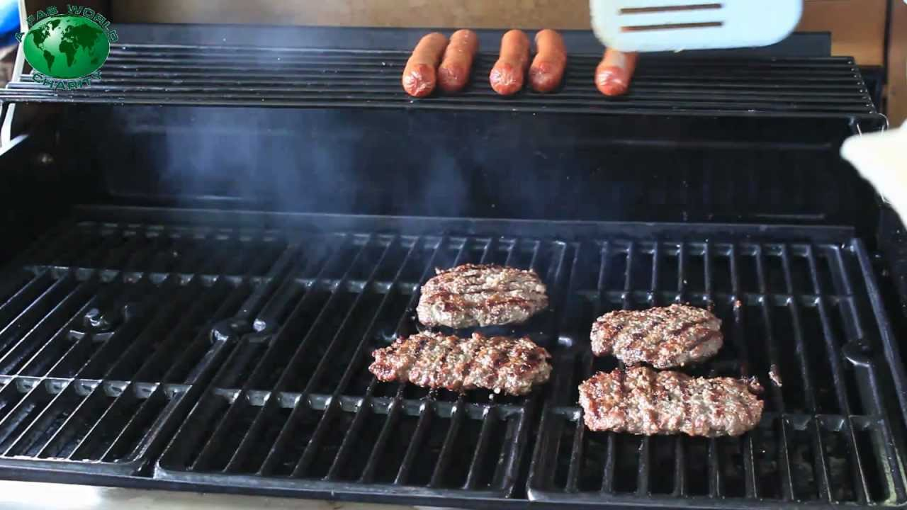 Gourmet Burgers on the Char Broil Tru Infra Red Grill with ...