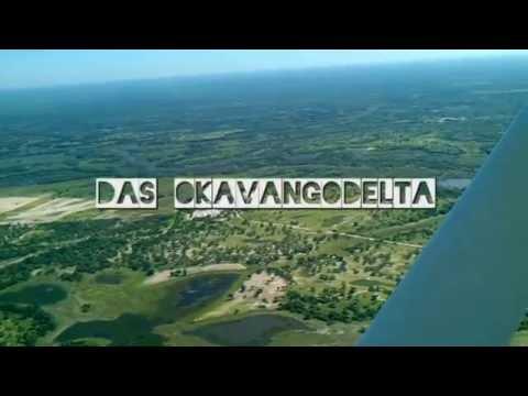 Okavangodelta - Überflug