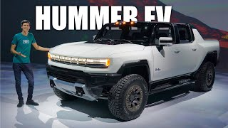 Hummer EV First Look! All The Details Of GMC's All-Electric Supertruck