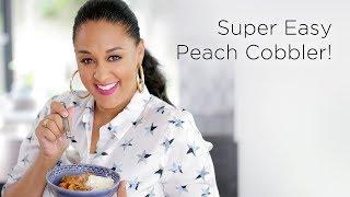 Tia Mowry's Pressure Cooker Peach Cobbler | Quick Fix