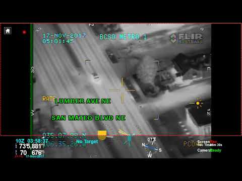 Nov. 17, 2017 pursuit and shooting by the Bernalillo County Sheriff's Department