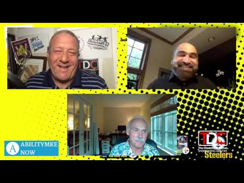 , TDC – 'AbilityMIKE' Now & Dave Stevens Interviews Steelers Legends Rocky Bleier and Franco Harris, Wheelchair Accessible Homes