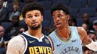 Denver Nuggets vs Memphis Grizzlies - Full Game Highlights | November 17, 2019 | 2019-20 NBA Season