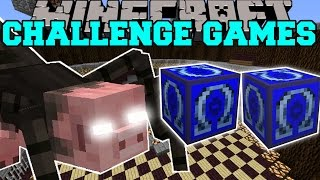 Minecraft: MUTANT SPIDER CHALLENGE GAMES - Lucky Block Mod - Modded Mini-Game