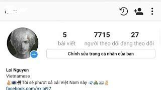 Tăng follow instagram mới nhất 2017 🌟💕