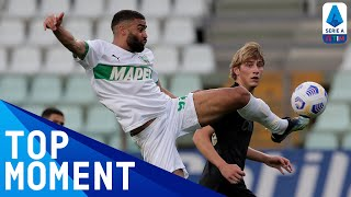 Grégoire Defrel's stunning acrobatic volley | Parma 1-3 Sassuolo | Top Moment | Serie A TIM