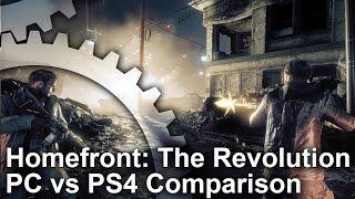Homefront: The Revolution - PC vs PS4 Graphics Comparison