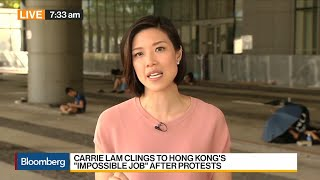 Hong Kong Reopens Downtown Government Offices