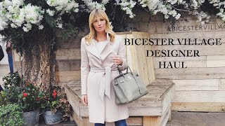 Bicester Village Designer HAUL | DESIGNER OUTLET SHOPPING Spring Summer 2019