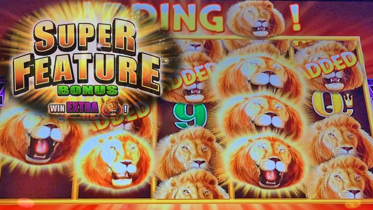Super Feature Bonus Sunset King Slot Machine Bonus Big