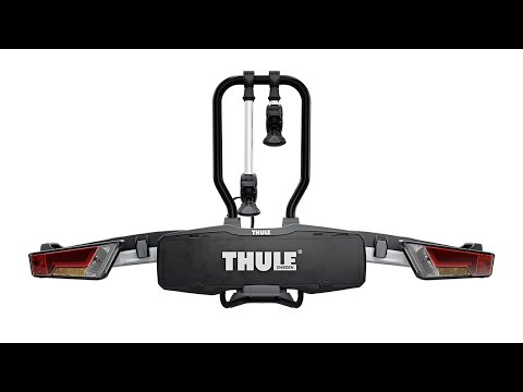 THULE EasyFold XT Towbar mounted 2 bike rack - 2017 Version 933300