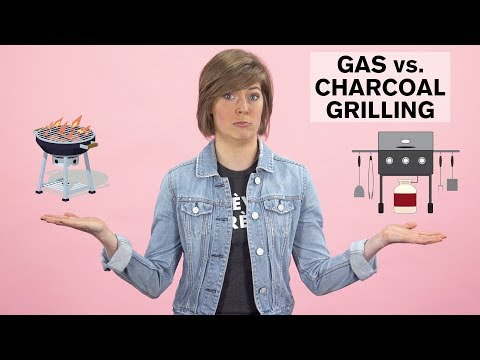"""What's the Difference Between Gas vs. Charcoal Grilling"""" 