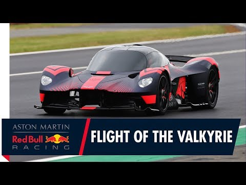 Flight of the Valkyrie   The first dynamic run of the Aston Martin Valkyrie