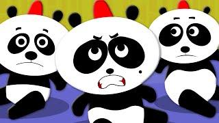 Five Little Pandas | Nursery Rhymes | Kids Songs | Baby Videos | Kids Tv Nursery Rhymes For Children