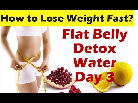 Detox Water for Quick Weight Loss & Flat Belly