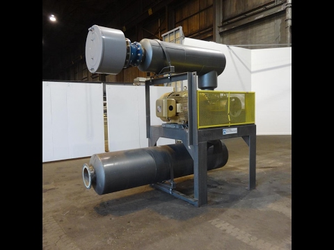 Used- Tuthill PD Series Rotary Positive Displacement Blower - stock # 48643003