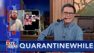 Quarantinewhile... Stephen Colbert Predicted The TikTok Sea Shanty Craze