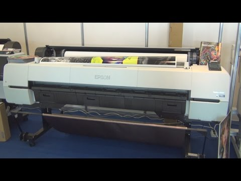Epson SureColor P20000 printer review in 3D