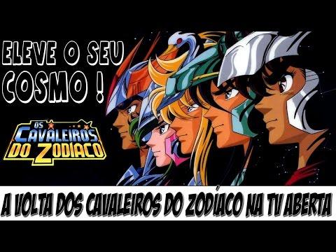 Os Cavaleiros do Zodíaco e Dragon Ball Z voltarão a ser exibidas na TV aberta no Brasil