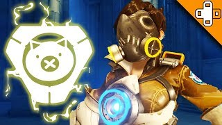 TRACERHOG! Overwatch Funny & Epic Moments 411