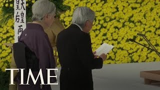 Japan's Emperor Tries To Make Amends For World War II   TIME